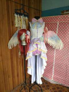Love Live Maki Nishikino White Day Awakened Cosplay Costume