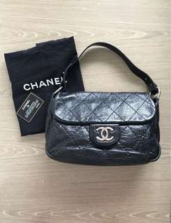 Chanel classic CC logo quilted Shoulder Bag 上膊皮袋