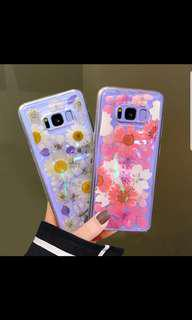 Prrssed Real Dry Flower Phone Casing