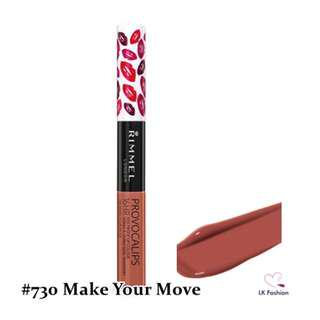 🚚 💕 Instock 💕 Rimmel Provocalips 16hr Kissproof Lip Colour 💋 #730 Make Your Move 💋