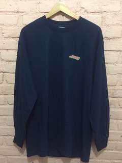 Awake New York Wave Logo LS Navy