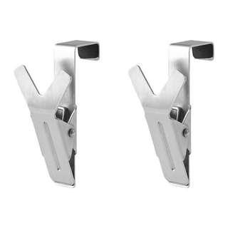 Ikea Hanger with Clip, Stainless Steel