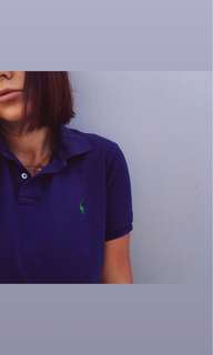 Ralph Lauren blue w/ green polo sz m (will fit 10/12 with a chest easy)