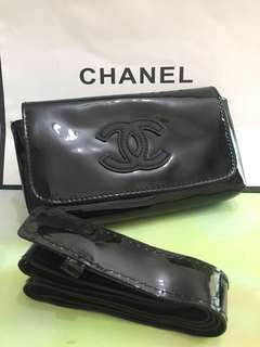 Chanel 漆皮腰包🎀專櫃贈品