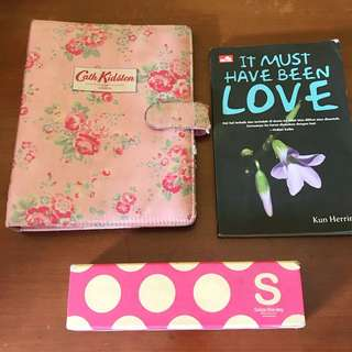 Take All Binder + Buku + Tempat Pensil