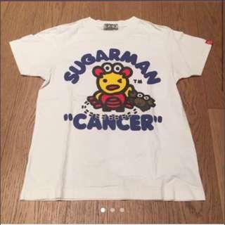 Sugarman Star Sign Cancer Blue Print Unisex Tshirt