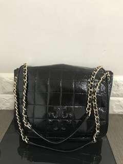 Tory Burch 漆皮 shoulder handbag