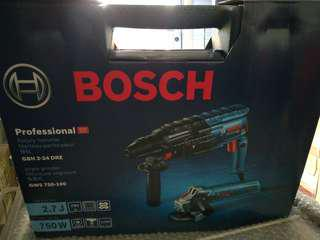 Bosch Drill And Grinder Combo