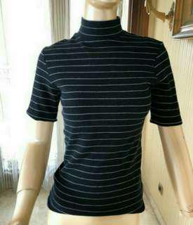 H&M Turtleneck Striped