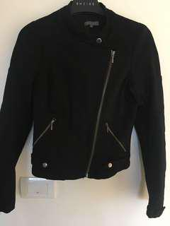Black ponti Sheike jacket