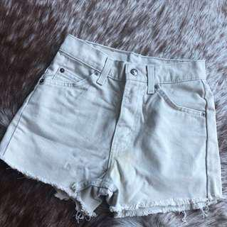 Levi's Light Grey Shorts