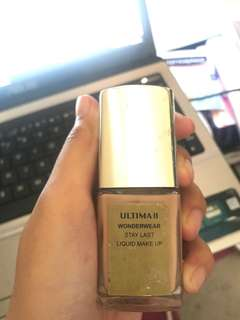 Ultima II wonderwear stay last liquid make up