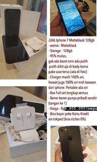 IPhone 7 128gb Matteblack