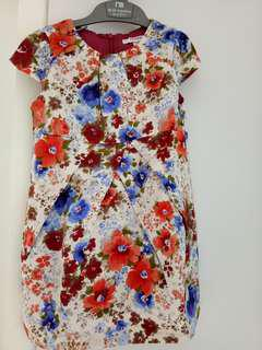Dress flower anak