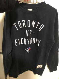 Worn once Blue Jays Peace Collective sweater - size M