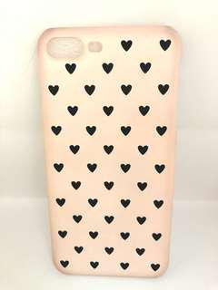 iPhone 7+/8+ Heart Background Casing