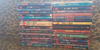 Fear Street RL Stine Collection