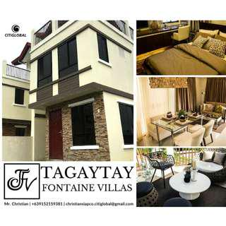 INCOME GENERATING HOUSE AND LOT IN TAGAYTAY