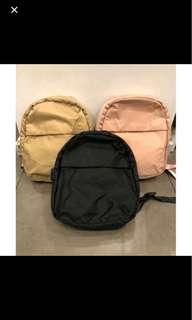 Miniso backpack hitam