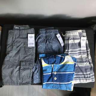 🚚 OSH KOSH 3T BOYS - lot of 4 items
