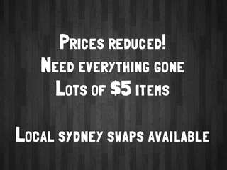 Prices reduced!!! Lots of $5 items
