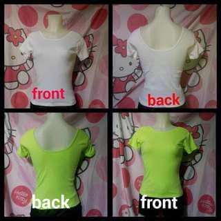 U Back Shirt