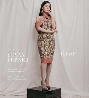 NEW Kerf Batik Dress