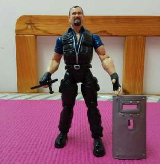 Jakks Pacific 7吋 BIG BOSS MAN WWE Action Figure 美式摔角手公仔