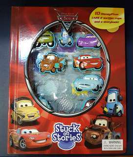 Cars 2 Storybook with Suction cups