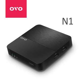 🚚 【贈掌上型鍵盤】OVO電視盒N1
