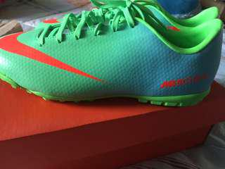 JR MERCURIAL VICTORY IV TF SOCCER SHOES