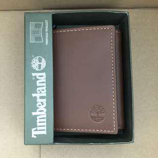 🎉立秋特賣價🎉Timberland Men's Trifold Wallet Brown 三摺啡色真皮銀包