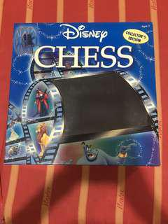 RARE AND COLLECTABLE Disney Chess Set