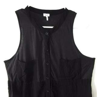 (M-L) Splendid USA full button sleeveless in almost looks new conditions