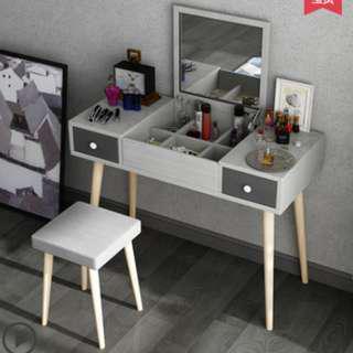 Nordic Dresser cum study table