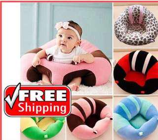 Portable Baby Sofa Comfortable Safe Sitting Training Chair ( Ready Stock)