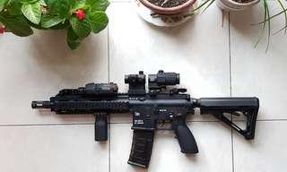 Wbb toy gun hk416