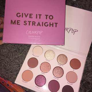 READYSTOCK Colourpop Give It Straight To Me