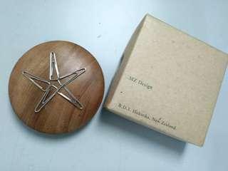 wooden magnetic clip holder fm new zealand
