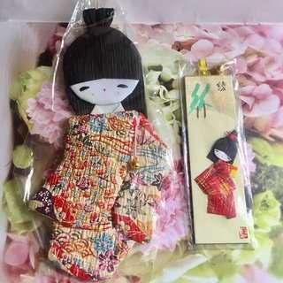 和紙和服人形公仔 #GOGOVAN50
