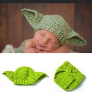 #maucoach Property photoshop topi dan celana rajut newborn