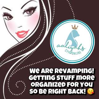 Re-Vamping Carousell Account. Please be patient as we need to change Shop address and organize listings Thank You! 🙏🏻🙏🏻🙏🏻