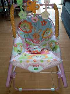 Fisher price for baby girl-Infant to toddler baby rocker