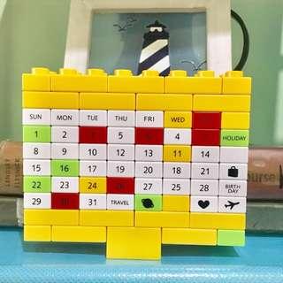 LEGO DIY Calendar