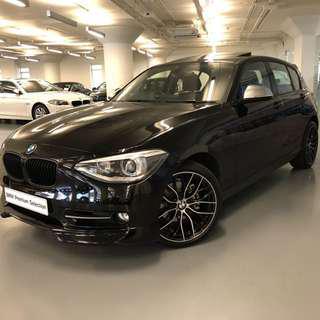 BMW 118iA Sport 2013