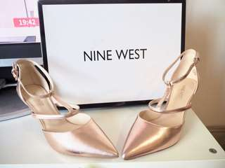 Nine West Rose Gold Pumps