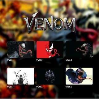 Custom Emoney Flazz dan Brizzi card design Venom 1