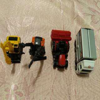 TOMICA 玩具車4入