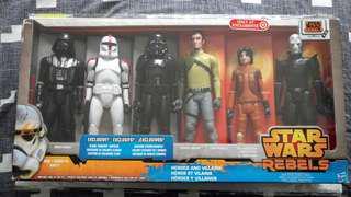 Star Wars Rebels Target 12inch