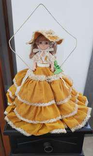 Vintage blue eyes doll